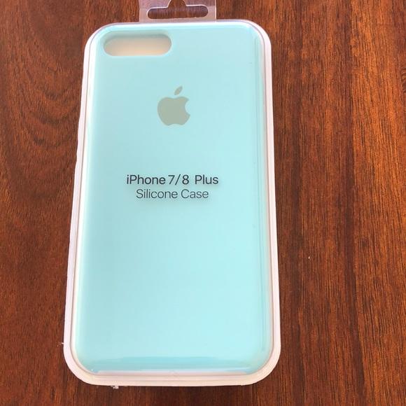 uk availability eb5e9 4fd88 Brand new IPhone 7/8 Plus Apple Silicone case NWT